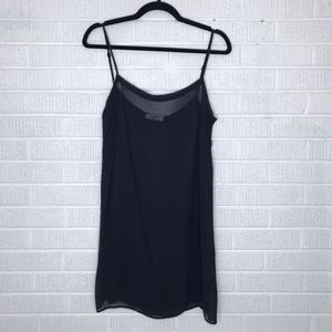 Isabel Etoile Marant Sheer Slip Dress Black Sz 42